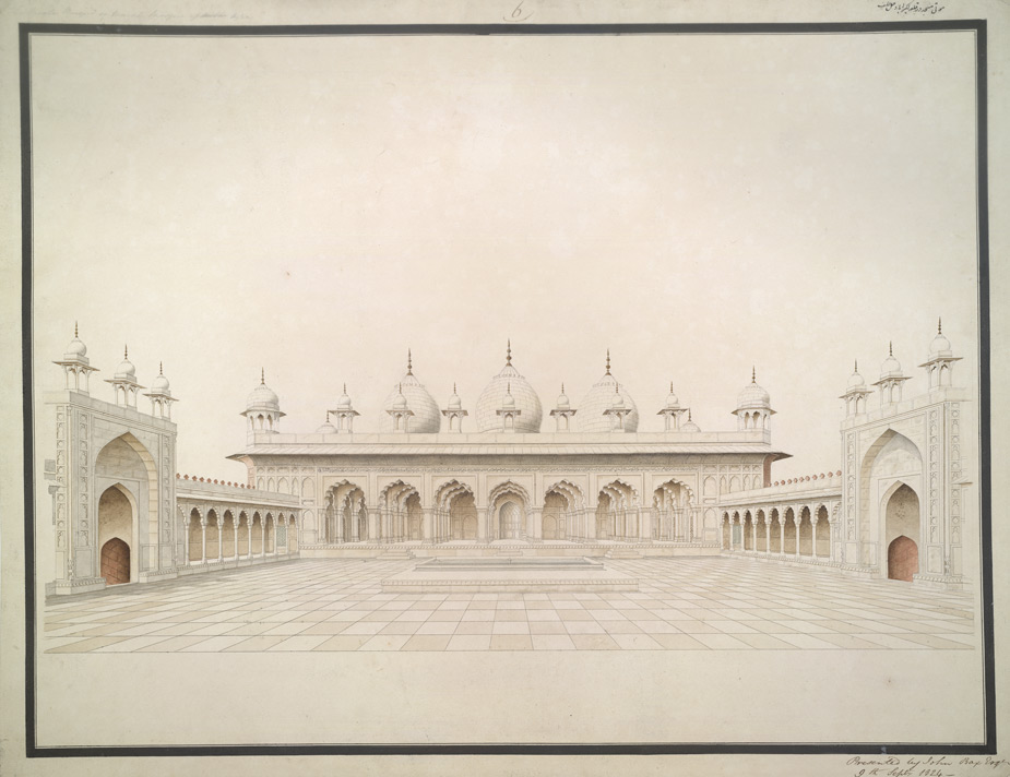 Pearl Mosque, Agra Fort 1796